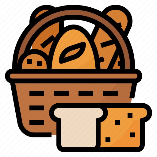 Bake, bakery, basket, bread icon - Download on Iconfinder