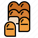 bake, bakery, bun, food icon
