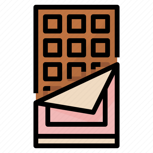 Chocolate, dessert, food, sweet icon - Download on Iconfinder