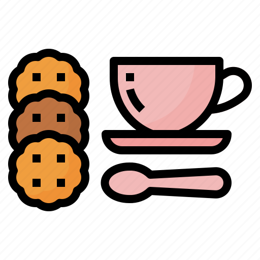 Break, coffee, cookie, food icon - Download on Iconfinder