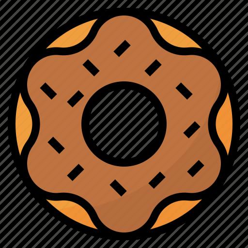Bakery, dessert, donut, doughnut icon - Download on Iconfinder