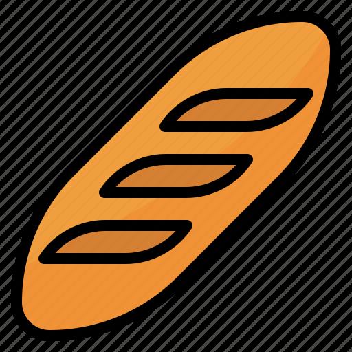 Bake, bakery, food, loaf icon - Download on Iconfinder