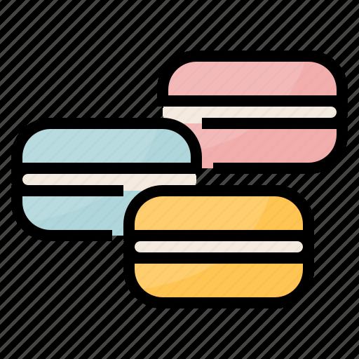 Bake, dessert, macarons, macaroon, sweet icon - Download on Iconfinder