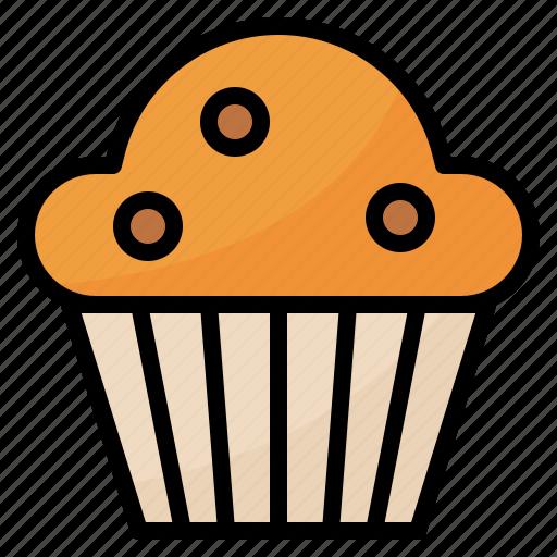 Bake, dessert, food, muffin icon - Download on Iconfinder