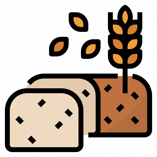 Bake, bread, sweet, wheat icon - Download on Iconfinder