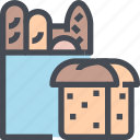 bakery, ehole, food, grain, harvest icon