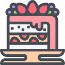 bakery, cake, dessert, sweet icon