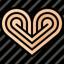 baker, bakery, bakeshop, bun, food, heart