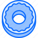 baker, bakery, bakeshop, donut, food icon