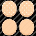 baker, bakery, bakeshop, bun, burger, food icon