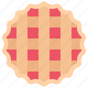 baker, bakery, bakeshop, food, pie icon