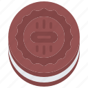 baker, bakery, bakeshop, cookie, food icon