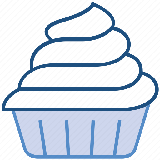 bakery, cream, cup, dessert, food, ice cream cup, sweet icon