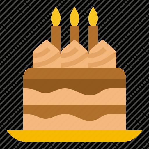 bake, bakery, birthday, cake icon