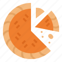 bake, dessert, food, pie icon