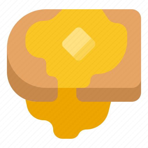Bake, bread, food, toast icon - Download on Iconfinder