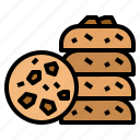 bake, cookie, dessert, food icon