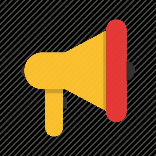 announcement, bullhorn, marketing, megaphone icon