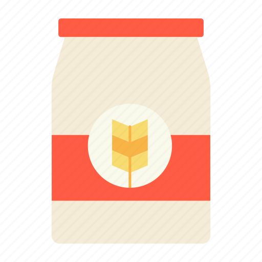 baking, bread, color, flour, food, ingredients, pastry icon