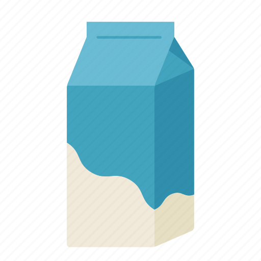 baking, carton, color, dairy, food, ingredients, milk icon
