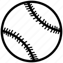 ball, baseball, game, play, sport icon