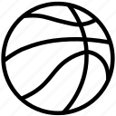 ball, basket, game, play, sport, sports icon