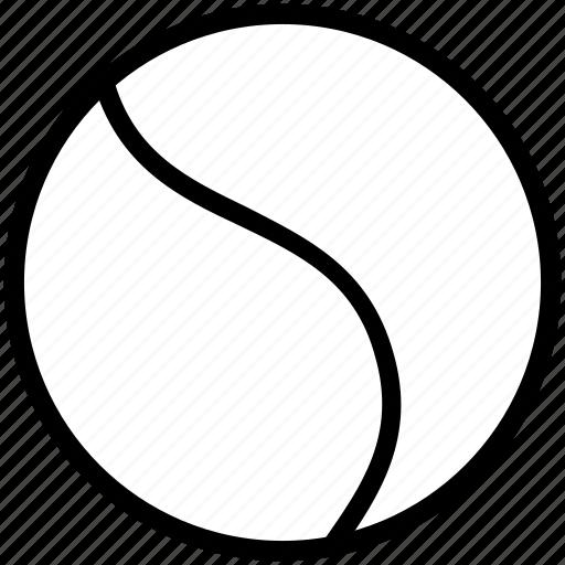 ball, play, sport, tennis, training icon