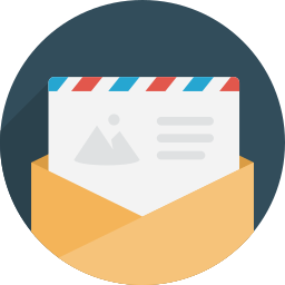 communication, contact, email, gmail, letter, message, sent icon