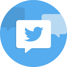 social network, twit, twitter icon