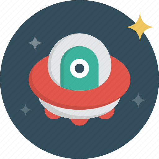 alien, cosmos, flying, plate, space, spaceship, ufo icon