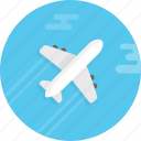 airline, airplane, delivery, fly, plane, shipping, sky, traffic, transport icon