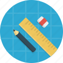 blueprints, build, develop, development, pen icon