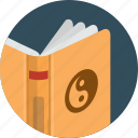 book, cover, open, read icon