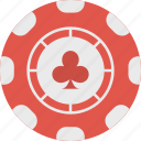 casino, chip, game icon