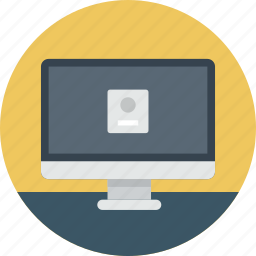 apple, computer, desktop, imac, login, mac, machine icon