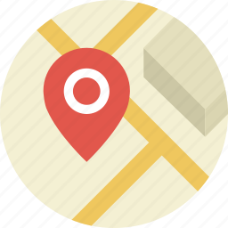 contacts, direction, geo, gps, location, map, marker, navigate, pin, position icon
