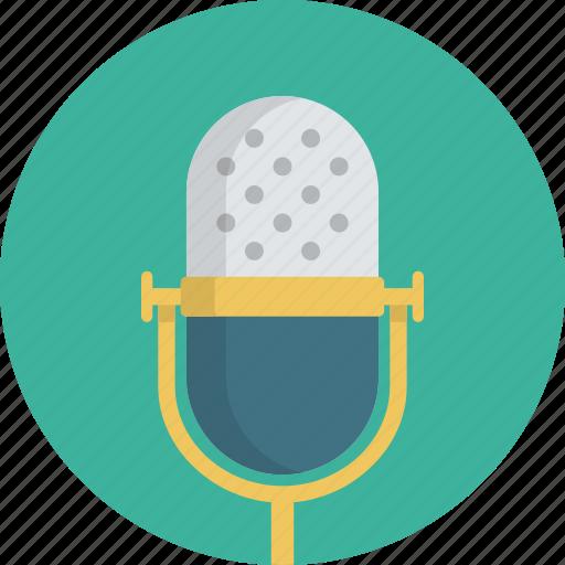 mic, microphone, music, rec, recording, singing icon