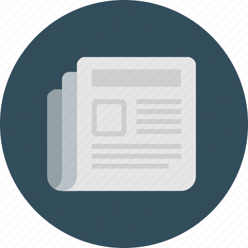 Business, press, media, newspaper, paper, news, front icon - Download on Iconfinder