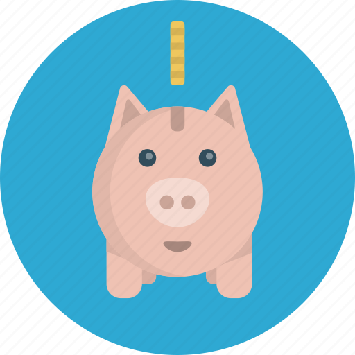 bank, cash, coin, coupon, discount, guardar, money, piggy, sale, save, saving icon