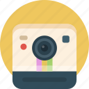 camera, image, instagram, picture, polaroid icon