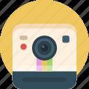 polaroid, camera, picture, image