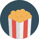 popcorn, movie, cinema