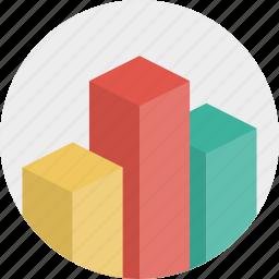 analytics, bars, chart, graph, seo, statistic icon