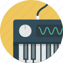 intrument, keyboard, midi, music, piano, synthesizer icon