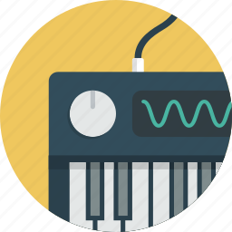 intrument, keyboard, midi, music, piano, synthesizer icon