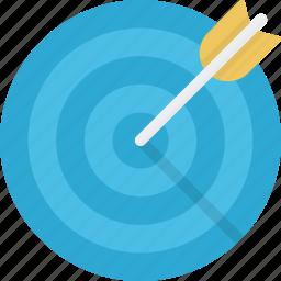achievment, aim, ambition, arrow, game, target icon