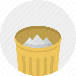 delete, garbage, trash, trashcan icon