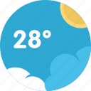 climate, temperature, sun, sky, weather, cloud