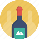alcohol, bottle, wine icon
