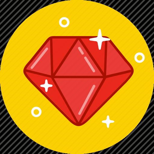 crystal, diamond, jewel, jewelry icon